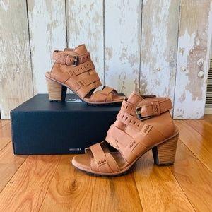 Sorel – Camel Brown Nadia Buckle Bootie Size 8